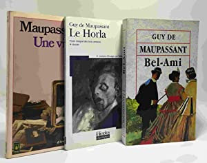 Bel-ami + Le Horla + Une vie: Maupassant Guy De