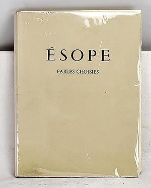 Esope. Fables choisies. [Traduction francaise de E.: Mateo Hernandez; Esope;