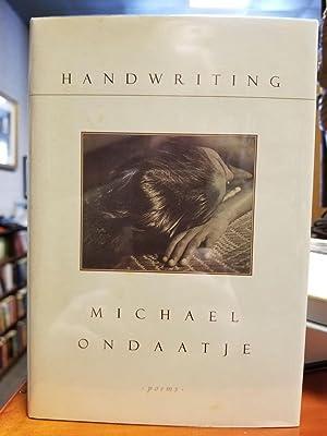 Handwriting: ONDAATJE, Michael [SIGNED]