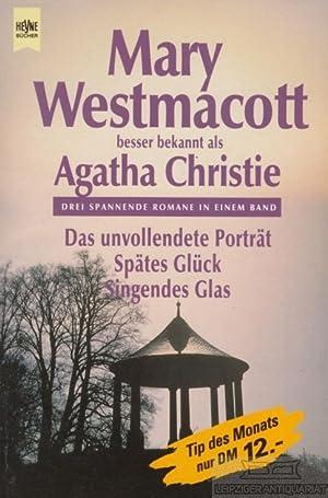 Das unvollendete Portät / Spätes Glück /: Christie, Agatha.