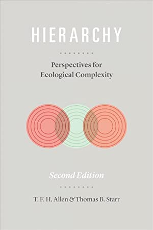 Seller image for Hierarchy - Perspectives For Ecological Complexity for sale by GreatBookPricesUK
