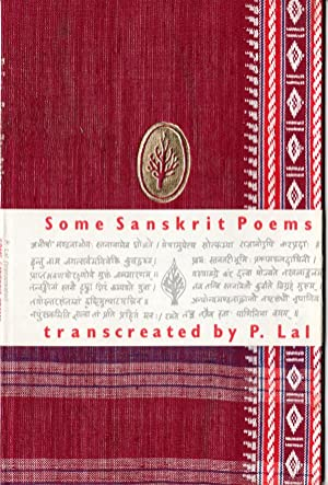Seller image for Some Sanskrit Poems for sale by PERIPLUS LINE LLC