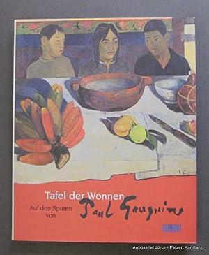 Auf den Spuren von Paul Gauguin. Text: Gauguin. -- Tafel