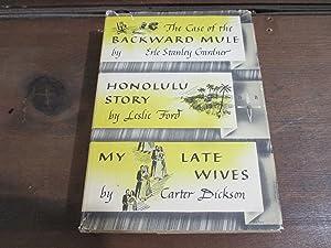 The Case of the Backward Mule, Honolulu: Erle Stanley Gardner,