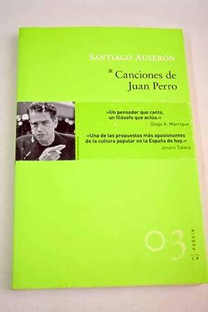 Canciones de Juan Perro: Auserón, Santiago