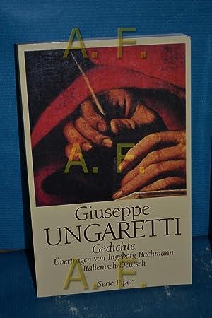 Gedichte : italienisch deutsch /. Aus dem: Ungaretti, Giuseppe:
