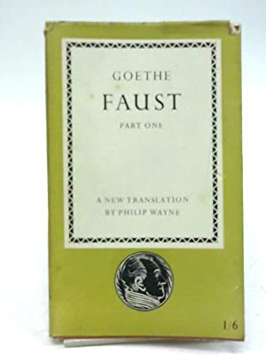 Faust [Part One] [Penguin Classics 12]: Goethe