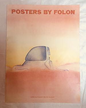 Posters by Folon (FIRST EDITION): Jean Michel Folon