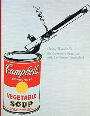 Andy Warhol's Big Campbell's Soup with Can: WARHOL, Andy) (1928-1987)
