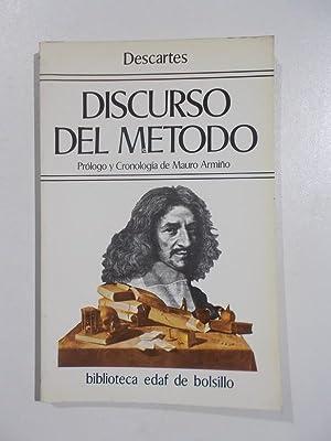 Discurso del método.: Descartes
