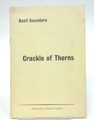 Crackle of Thorns (Modern Poets): Basil Saunders