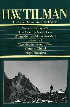 The Seven Mountain - Travel books. Snow: Tilman, H W