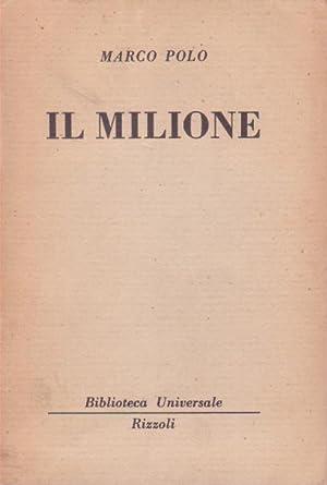 IL MILIONE: POLO MARCO