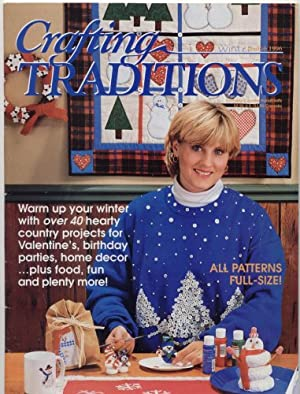 Crafting Traditions Magazine Jan/Feb Back Issue 1996: Reiman Publications