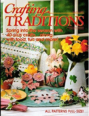 Crafting Traditions Magazine Mar/Apr Back Issue 1996