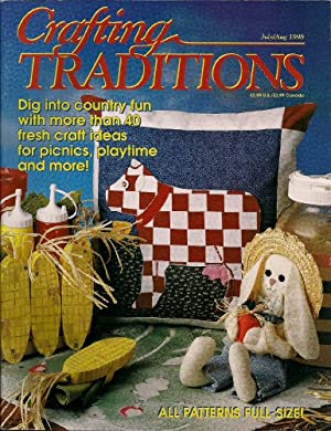 Crafting Traditions Magazine July/Aug Back Issue 1998