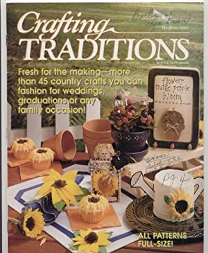 Crafting Traditions Magazine May/June Back Issue 1997: Crafting Traditions