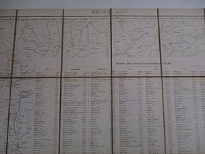 Topographische Karte der Schweiz (Auch): Dufourkarte. (Hier): Dufour, Guillaume Henri,