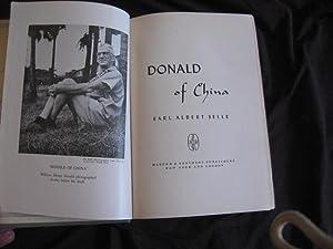 Donald of China: Earl Albert Selle