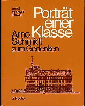 Bild des Verkäufers für Porträt einer Klasse. Arno Schmidt zum Gedenken. zum Verkauf von Fundus-Online GbR Borkert Schwarz Zerfaß