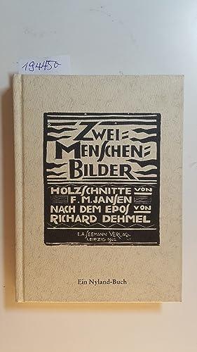 Zwei-Menschen-Bilder : Holzschnitte von F. M. Jansen: Jansen, Franz M.