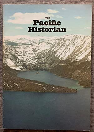 Water Policy] The Pacific Historian. A Quarterly: Bloom, John Porter,