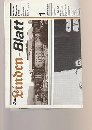 DAS LINDEN-BLATT 1 Januar 1992: Deutsche Staatsoper Berlin
