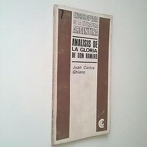 Análisis de la Gloria de Don Ramiro: Juan Carlos Ghiano