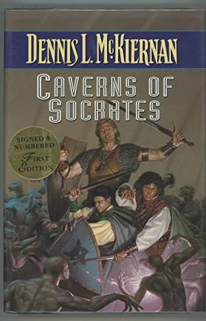 Caverns of Socrates by Dennis L. McKiernan (First Edition) Signed
