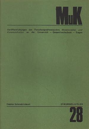 Struwwelhitler (1941). Ein Buch mit Nazigerschichten. Doktor: Spence, Robert und