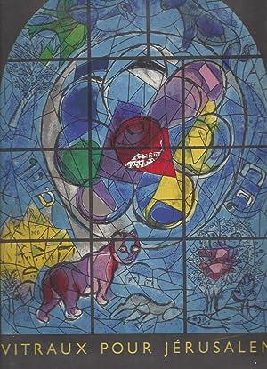 VITRAUX PPOUR JERUSALEM - Marc Chagall a: Chagall, Mar -