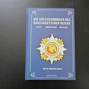 Die Auszeichnungen des Großdeutschen Reichs - Orden,: Doehle, Heinrich:
