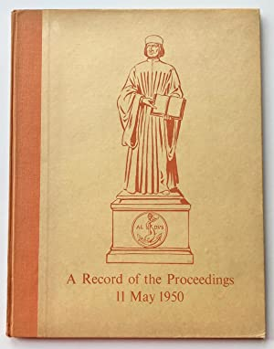 A Record of the Proceedings at The