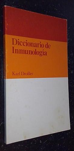 Diccionario de inmunología: DROBLER, Karl: