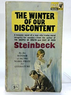 The Winter of our Discontent.: John Ernst Steinbeck
