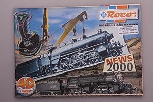 Imagen del vendedor de ROCO - NEWS 2000. Katalog a la venta por INFINIBU Das Buchuniversum