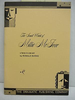 The Small World of Millie McIvor: Ronald Burke