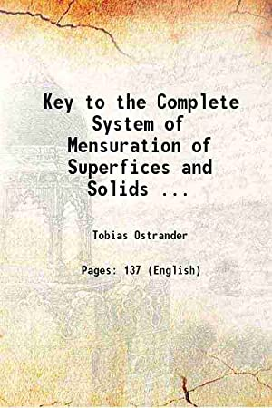 Key to the Complete System of Mensuration: Tobias Ostrander