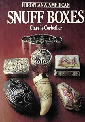 European and American Snuff Boxes