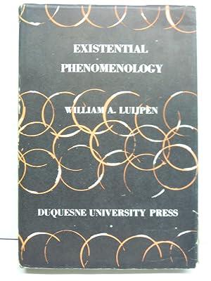 Existential Phenomenology: Luijpen, William A