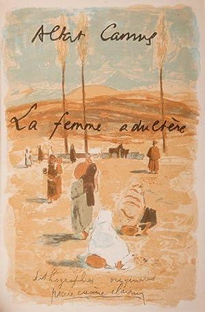 La Femme adultère.: CAMUS (Albert).