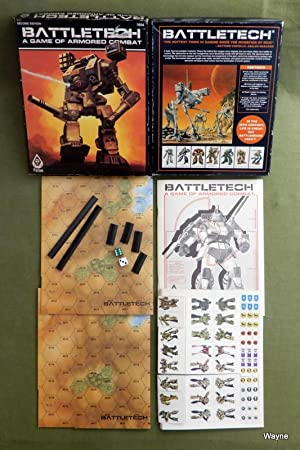 Battletech: A Game of Armored Combat (2nd