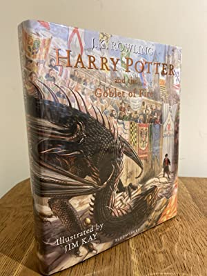 Bild des Verkäufers für Harry Potter and the Goblet of Fire ++++ A SUPERB SIGNED UK FIRST EDITION & FIRST PRINTING HARDBACK +++ zum Verkauf von Zeitgeist Books