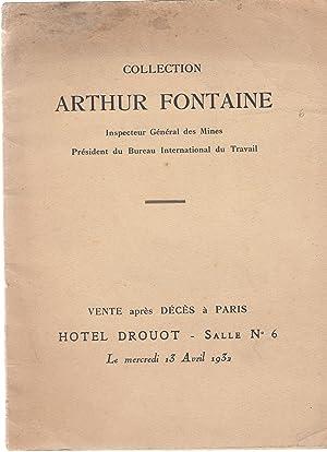 Catalogue des tableaux modernes, aquarelles, dessins, pastels: Arthur Fontaine -