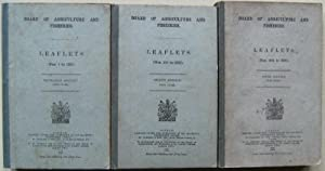 Board of Agriculture Leaflets 1 - 300 (in three volumes)