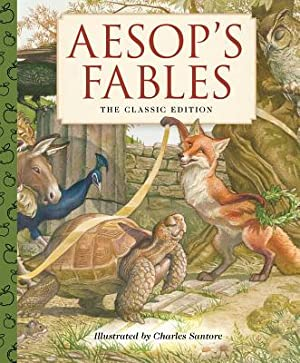 Aesop's Fables: A Little Apple Classic (Hardback: Santore, Charles