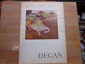 Degas. Degas. Einl. von Bruno F. Schneider: Degas, Edgar :