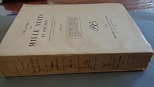 Le Livre Des Mille Nuits et Une: J.C.Mardrus
