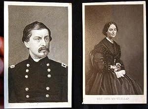 C. 1885 Cartes-De-Visite of General and Mrs. McClellan: General McClellan)