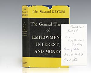 Seller image for The General Theory of Employment, Interest and Money. for sale by Raptis Rare Books, ABAA/ ILAB